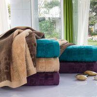 Wholesale Towels Cotton 34 - high quality 100% cotton new wash face towel hair towel soft face towels household towels 34*75cm ,2 colors