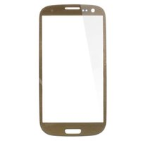 Wholesale S3 Oem Front Glass - For Galaxy S3 Siii I9300 glass lens front glass Brown OEM New -not LCD or digitizer 10pcs\lot