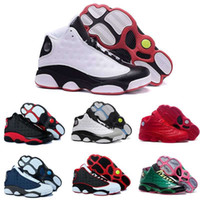Wholesale Factory Leather Band - [With Box]Free shipping 2016 Factory Store Cheap Hot New Air Retro 13 13s Mens Basketball Shoes Sneakers XIII Original Quality shoes US 8-13