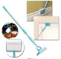 Wholesale Mop Brush Cleaning - Baseboard Buddy Cleaning Mop Simply Walk &Glide Extendable Microfiber Dust Brush Home Supply