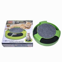 Wholesale Green Products Kids - Cat Toy Pets Products Kitten Toys with Moving Mouse Inside Roped Funny Faux Mouse Play Toys For Kids & Cat