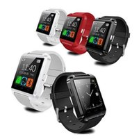 Wholesale android note 2 online - USA Bluetooth Smartwatch U8 Watch Smart Watch Wrist Watches for iPhone s Samsung S4 S5 Note Note Android Phone