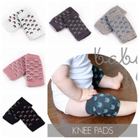 2017 Baby knee pad knitted kneelet baby knee crawling socks non slip socks anti slip knee pads toddler leg warmers пара младенец leggings сейф
