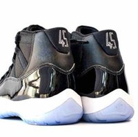 Wholesale Cheap 11 Boots - Cheap (11)XI Space Jam retro 11 Basketball Shoes Mens & Women's retro 11s Athletics Boot cheap Sneakers black sports shoes