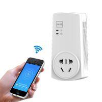 Wholesale Digital Wireless Remote Power Switch - Wifi Intelligent Power Socket Timer Switch Electrical Wireless Remote Control Plugs & Adaptors