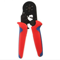 Wholesale Types Crimping Tools - 1PC HSC8 6-6 MINI-TYPE Self-Adjustable Crimping Plier 0.25-6mm Terminals Crimping Tools Multi Tools Top Quality