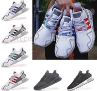 Wholesale Core Equipment - New EQT Cushion ADV shoe 91-17 Man Running shoes core Black Friday Asia limited Europe Exclusive North America Women Equipment Sport Sneaker