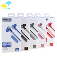 Wholesale Sports Mp3 Player Red - 2015 NEW Style Newest Sport Wireless Bluetooth Headphones Headset Auruculares Bluetooth for Phone Computer Mp3 Player.