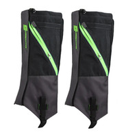 Wholesale wholesale hiking boot men - Wholesale- 1 Pair Waterproof Snow Boot Leg Leggings Includes Sturdy Outdoor Hiking Climbing