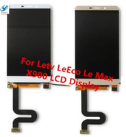 Wholesale Max Test - Wholesale- Tested For Letv LeEco Le Max X900 LCD Screen Display+Touch Panel Digitizer Assembly Replacement for letv x900 display