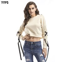 Wholesale Velvet Fashion Blouse - New Europe and the United States autumn and winter velvet harness short paragraph sweater blouse casual T-shirt fashion pullover