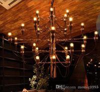 Wholesale Gino Sarfatti Chandelier - Fast shipping Mod 2097 Chandelier Gino Sarfatti 18  30  50 Heads Pendant Lamp Lights Lighting Fixtures Lluminaire