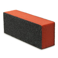 Wholesale Wholesale Nial Polish - Wholesale- Professional Silicon Carbide Nail File Drywall Sponge Nail Polish Remover Sanding Pad Black Three Sides Nial Buffer