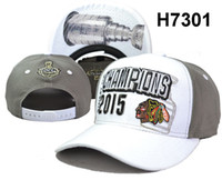 Wholesale Cheap Backing Cups - Newest Blackhawks Snapbacks 2015 Champion Hockey Caps Brand 2015 Stanley Cup Champion Caps High Quality Sports Cap Cheap Snap Back Hats