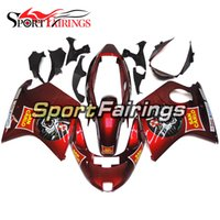 Wholesale San Carlo Fairings - Complete Motorcycle Injection Fairings For Honda CBR1100 XX 1997 1998 1999 2000 2001 2002 2003 2004 2005 2006 2007 ABS Plastic San Carlo Red