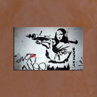 painting from pictures - Modern Classical Banksy Wall Art Picture Home Decoration Painting Custom Canvas Prints Picture from Digital Photo for Home