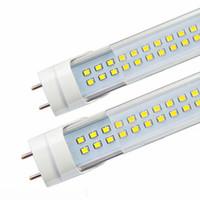 led floresan tüpler sıcak beyaz toptan satış-4ft 1.2 m 1200mm T8 Led Tüp Işıkları Süper Parlak 40 W Sıcak Doğal Soğuk Beyaz Led Floresan Tüp AC110-277V UL FCC