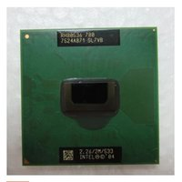 CPU cpu PM 780 per Intel Pentium M 780 2M Cache, 2,26 GHz, 533 MHz SL7VB PM780 socket 478 Supporto chipset PM915