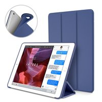 Custodia Smart Cover Ultra Cover Slim Trifold PU + Custodia Smart Custodia Smart Cover per il nuovo iPad 2017 9.7 10.5 2 3 4 5 6 Air Mini