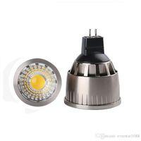 Wholesale Downlights Living Room - gu5.3 mr16 led spot bulbs light dimmable 9w 12w gu10 cob led bulbs downlights lamp ac 110-240v   12v