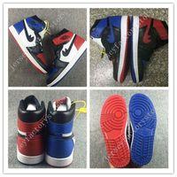 Wholesale Mens Mandarin - 2017 New Retro 1 Top 3 Mens Basketball Shoes Retros 1s OG Sneakers AAA Quality Mandarin duck shoe Trainers Men Sport running Shoes US 7-13