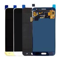 iphone 4s tam ekran değiştirme toptan satış-Samsung Galaxy J3 Için test Çalışma Kuyu LCD Ekran 2016 J320 J320A J320F J320M J320FN LCD Ekran