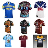 Wholesale Mustang Shirt Xxl - 2017 new top quality Malu Bulldaogs Mustang Rugby Jersey Thai version of the fish rugby Uniforms T-shirt