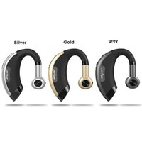 Wholesale silver cell phone music for sale - Group buy Zealot E1 Wireless bluetooth headset music headphones car driver handsfree earphones with microphone in Retail Gift Box Free DHL