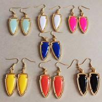 Wholesale Womens Luxury Earrings - Brand designer Earrings womens resin Dangle Earring high quality luxury Chandelier earrings For female Fashion Jewelry