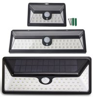 Wholesale Led Driveway Lighting - LED SOLAR LIGHTS OUTDOOR Motion Sensor Lights Wide Angle Illumination Wireless Waterproof Security Light for Wall Driveway Patio Yard Garden