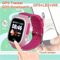 Wholesale Control Chat - Wholesale- Vtech smart watch kidizoom GPS Chat Wristwatch Phone with Russian language pk Q50 Q60 Q80