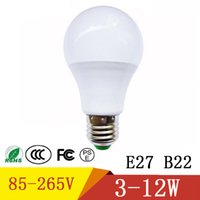 Led Light Bulb High Power E27 W 5W 7W 9W 12W Lampada Spotlights Luz de mesa LED Energy Saving Lamp