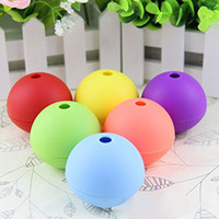 Wholesale Large Rubber Balls - Fast-Release Ice Ball Maker Mold Sphere Large Tray Perfect for Whiskey Cocktail and Any Drink