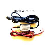 Wholesale Car Dash Kits - Wholesale- Micro USB 3.5m Car Hard Wire Kit for Mini 0803 mini 0805 mini 0806 car Camera Dash camera hardwire kit