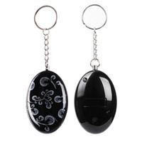 Wholesale Self Defense For Women - 120 dB SOS Emergency Personal Alarm Keychain Self Defense for Elderly Kids Women Adventurer Night Workers Anti-theft Alarm Policeman Recomme