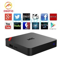 1 PCS Mini M95 Boîtes Android Amlogic S905X Quad Core IPTV 1 Go / 8 Go OTT TV Box 3D Smart 4K media et Game Player