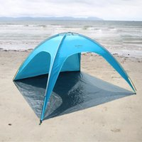 Summer Beach Tent Sun Proof SUV 3-4 Man Tent Outdoor C&ing Casual Sleeping Sun Shelter Beach Canopy Fishing Awning Garden Sun-Shading & Sun Shade Beach Tent Canada | Best Selling Sun Shade Beach Tent ...