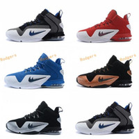 Wholesale Penny Tennis Shoes - 2017 Basketball Shoes Penny VI 6 Penny Hardaway Copper Mens Basketball Shoes Discount Mens Sport Shoes Online Sneakers Size 41-46