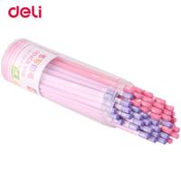 escritório de delicatessen venda por atacado-Escrevendo Suprimentos Deli 50 Pcs / Set Lápis Padrão conjunto de lápis 2B Office Suprimentos escolares lápis de design simples fofo para desenho