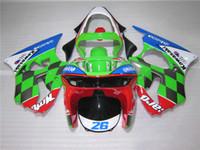 Wholesale Bodywork Fairing kit for Kawasaki Ninja ZX6R white motorcycle fairings set ZX6R OT05