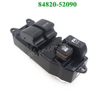 Wholesale Toyota Verso - High Quality New Power Window Lifter Regulator Master Control Switch 84820-52090 8482052090 For Toyota Yaris Echo Verso