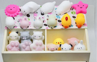 squeeze music - 500PC Hasbro Toy Kawaii Original Japan Lazy Cat Mochi Decompress Squishy Squeeze Cat Healing Toy Cute Little Animal Dumpling Gifts for Kids
