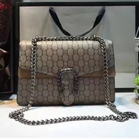 Wholesale Designer Handbags Faux - suede leather shoulder bags women famous brands Snake head crossbody bag designer handbags high quality luxury Sylvie bags female