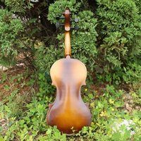 Wholesale Antique Violin Make Violino Spruce Basswood Pink Wood Bow Stringed Instrument Musical More Colors