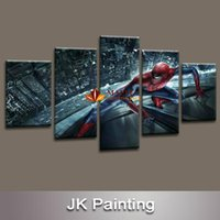 More Panel painting from pictures - Spider Man Movie modern Canvas Painting Art for children s living room decor from HD movie poster image print on canvas