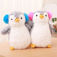 Wholesale Plush Pillow Penguin - Super Cute Penguin Plush Doll Toys Soft Stuffed Animals Penguins Doll Pillow Birthday Christmas Gift Doll Toy