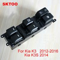 steuerschalter auto groihandel-Für 2012-2016 Kia K3 2014 K3S glasheber hauptantrieb auto türschalter steuerschalter montage
