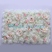 Livraison gratuite Hot Sale Cheap Christams / Festive / Party / Wedding Stage Artificial Beulytiful Silk Flower Wall Backdrop Decorative Flower