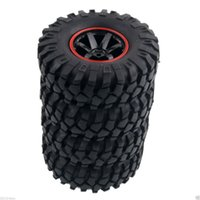 Wholesale Electric Rc Jeep - RC HSP 701A-7006L Rim 108mm Rock Climbing Tires For 1:10 Jeep Wrangler SCX10 D90