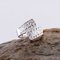 Wholesale 925sterling Silver - Wholesale- Wholesale silver plated ring 925 Fashion jewelry Silver Ring 925sterling-silver EZGMOKTO